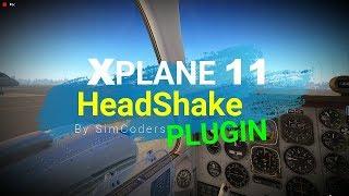 Xplane-11 ✈ HeadShake  FREE Plugin
