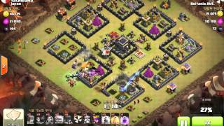 Clash of Clans Gol+Wi+Wi vs th9 (COC clan war)