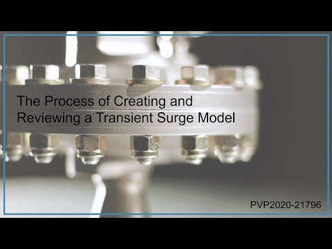 The Process of Creating and Reviewing a Transient Surge Model