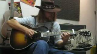 Chump Man Blues - Blind Blake - Gibson L00 Blues King - Ariberto Osio
