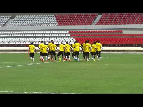 Ghana Black Stars players copy Hearts of Oak dance