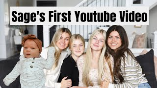 Baby Sage's First Youtube Video!!