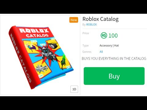 BUYING THE ENTIRE ROBLOX CATALOG!!
