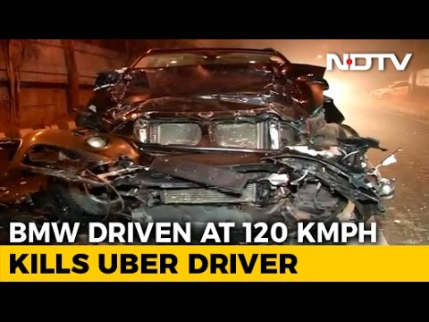 BMW Driven At 120 Per Hour Kills Uber Driver On First Day Of Job
