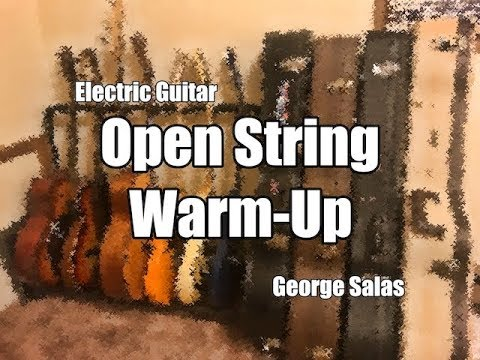 Open String Morning/Bedtime Warm-Up