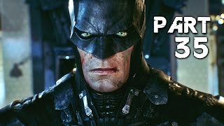 Batman Arkham Knight Walkthrough Gameplay Part 35 - Downfall (PS4)