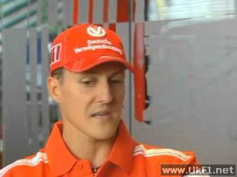 Michael Schumacher Interview - 2004 French GP Pre-Race