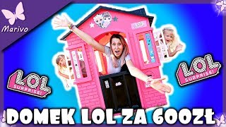 DOMEK LOL SURPRISE ZA 600ZŁ -  !!!NOWOŚĆ!!! - Unboxing po polsku Domek ogrodowy Marivobox #58