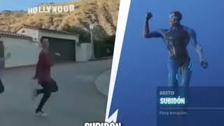 Expectation vs reality at FORTNITE Dances