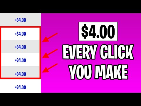 Earn $4.00 EVERY CLICK For Free (Make Money Online) | Ryan Hildreth