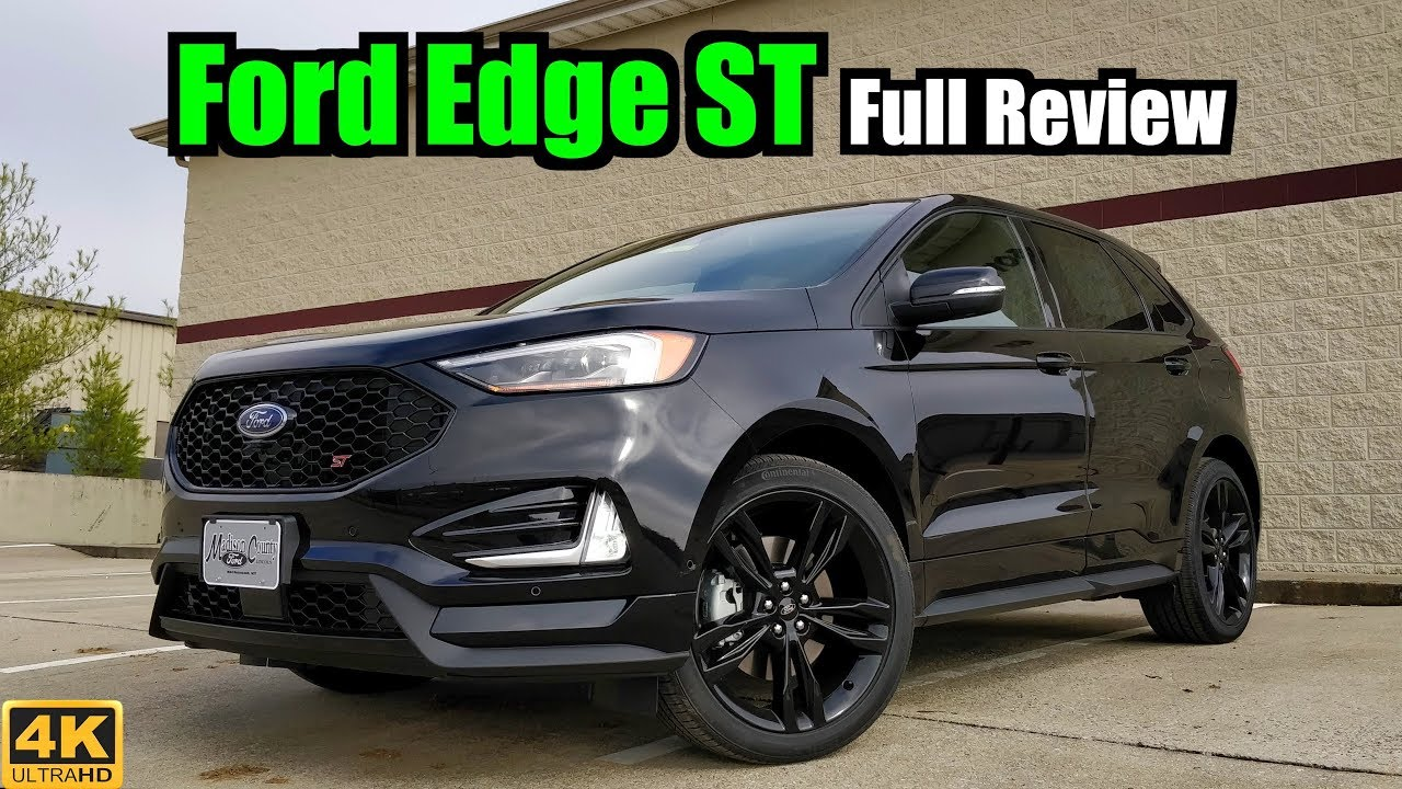 2019 ford edge st full review the edge on steroids. Black Bedroom Furniture Sets. Home Design Ideas