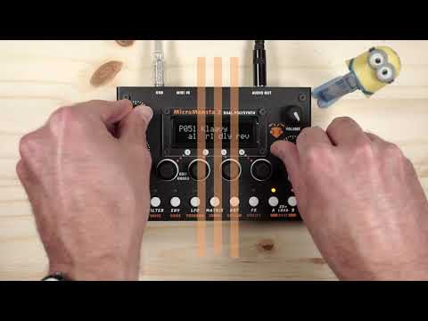 Audiothingies MicroMonsta 2 Demo
