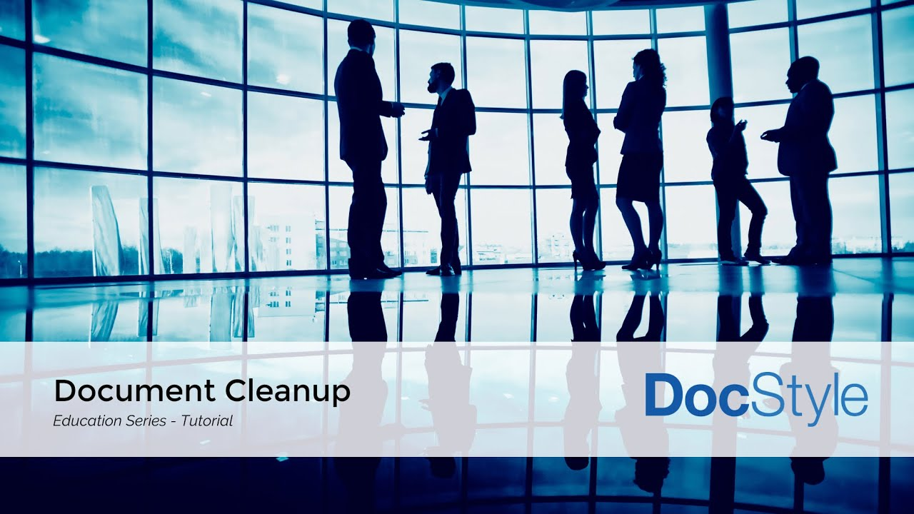 Word Document Cleanup Tools