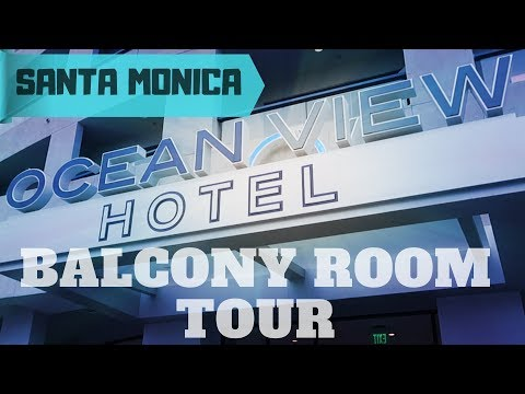 OCEAN VIEW HOTEL KING ROOM | SANTA MONICA CALIFORNIA