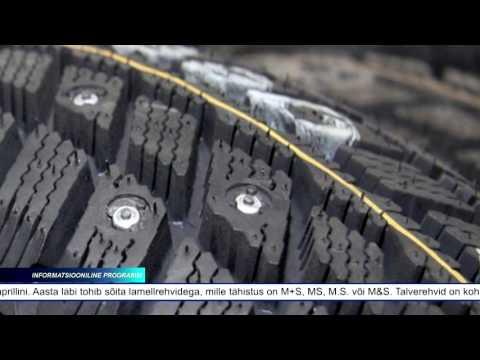Alates laupäevast võib Eestis sõidukitel kasutada naastrehve