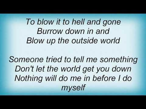 Soundgarden - Blow Up The Outside World Lyrics