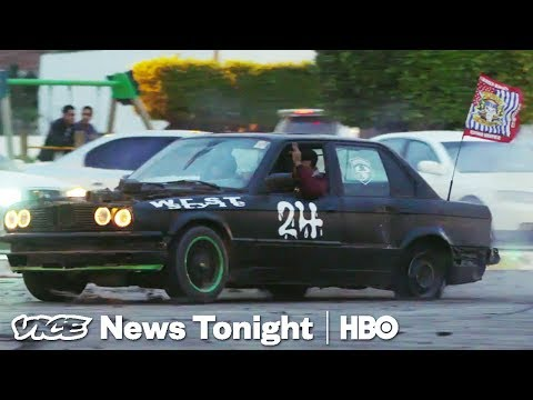 We Did Donuts With Libya's Young Street Racers (HBO)
