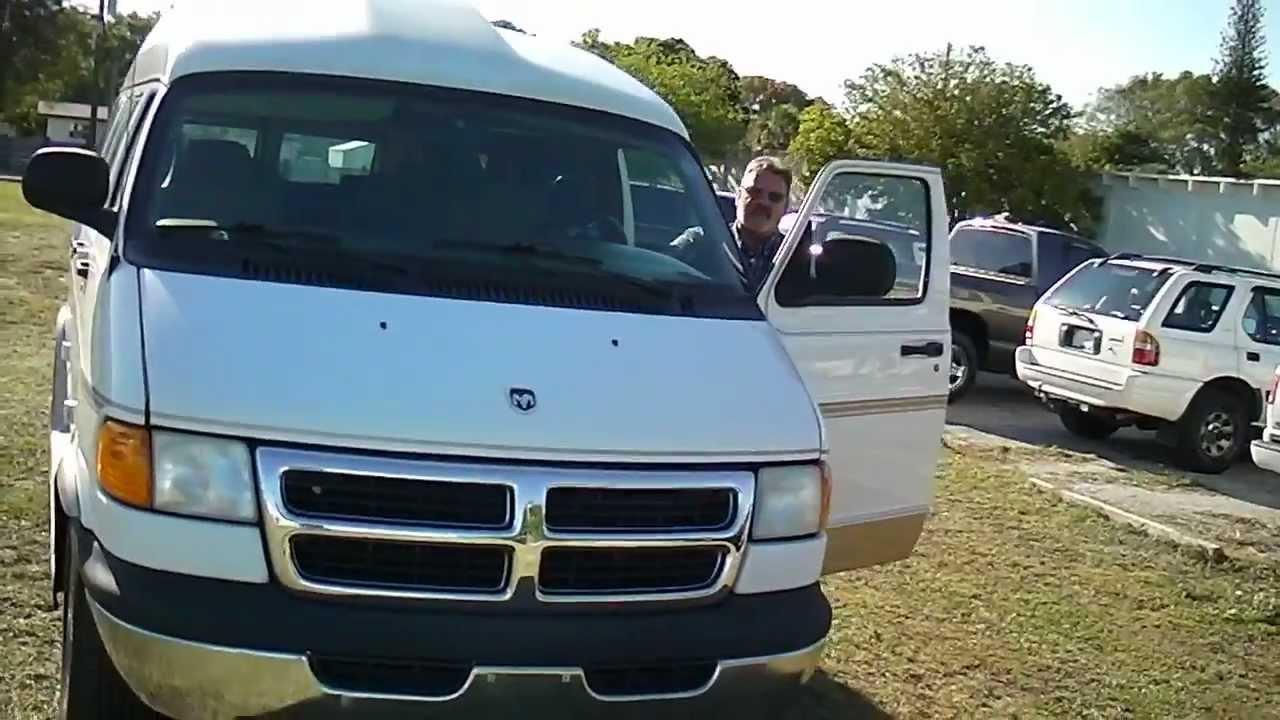 2001 Dodge Ram High Top Conversion Van Walk Around Presentation You