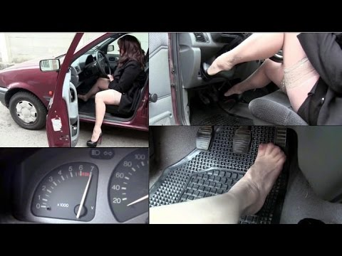 Miss Vicky hard revving the old Ford Fiesta | Trailer Pedal Pumping