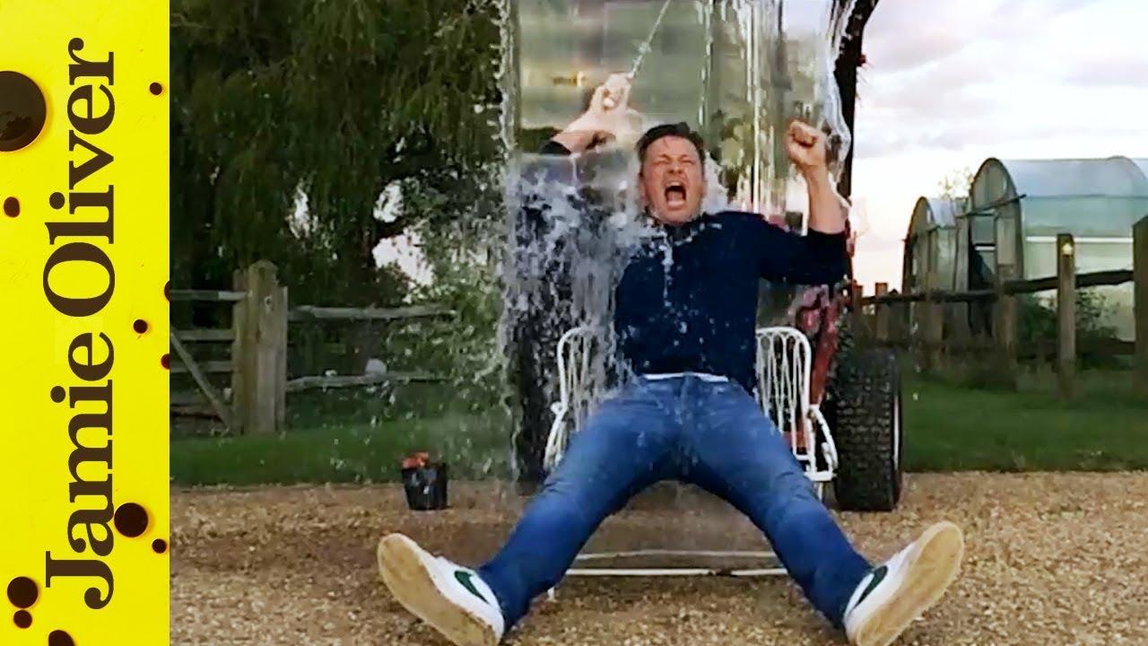 2019 year looks- Gaultier beckham ice bucket challenge