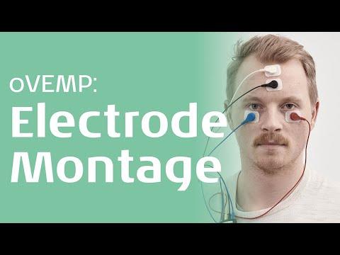 oVEMP - Electrode montage