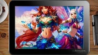 Играем Perfect world на планшете Voyo A1 mini, tablet pc gameplay test