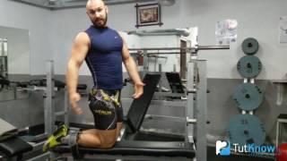 Упражнение поплавок для бицепса бедра - нестандартное упражнение
