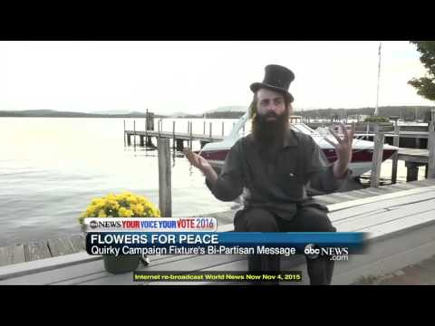 """Rod Webber on World News Now - """"A Man with a Peaceful Mission"""""""