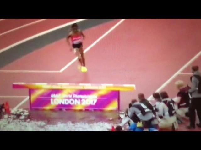 Beatrice Chepkoech fail 3000m Steeplechase Women IAAF World Champs London 2017