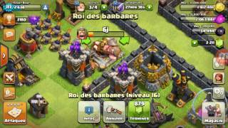 Clash of Clans #48 ON FARM LE NOIR + 20 000 EN 20 MINUTES