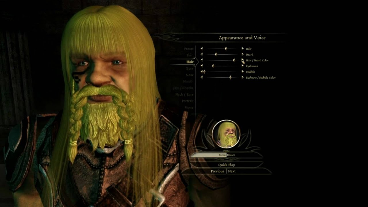 Dragon Ageorigins W Hair And Ultra Graphics Mods Hd Youtube