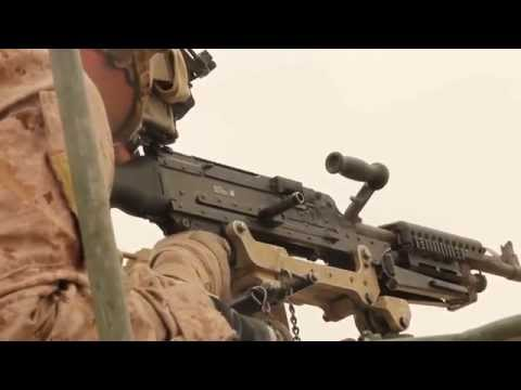 Crew Served Weapons Live Fire, 26th Marine Expeditionary Unit