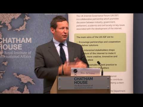 Keynote:  Hon Ed Vaizey, Minister for Culture and the Digital Economy