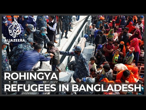 Bangladesh moves nearly 2,000 Rohingya refugees to remote island