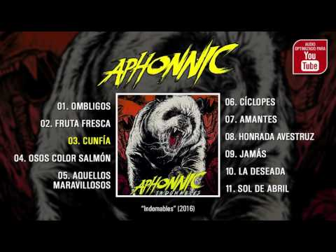 """APHONNIC """"Indomables"""" (Álbum completo)"""