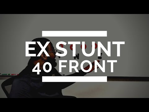 🏈 THE EX STUNT - 40 FRONT | PASS RUSH STUNTS | www.bigdawgfootball.com