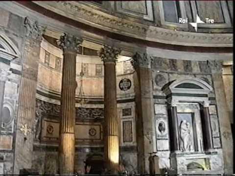 Pantheon youtube for Esterno pantheon