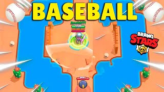 NOVO MINI-GAME! FIZEMOS BASEBALL NO BRAWL STARS
