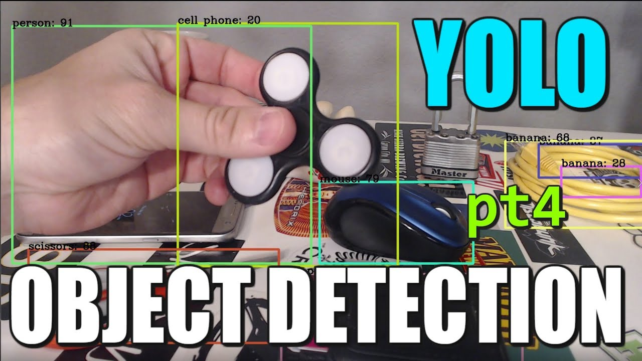 Image Detection with YOLO v2 (pt 4) Real Time YOLO with Webcam