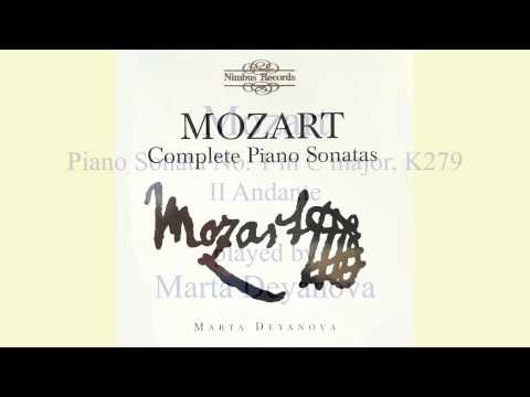 Mozart Piano Sonatas No  1 in C major, K 279