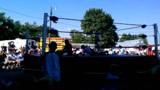 tommy blaze vs super insane at miami county fair 2011