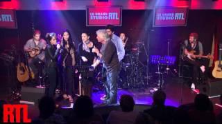 Gérard Lenorman - La Ballade des gens heureux en live dans le Grand Studio RTL