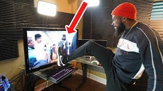 REACTING TO KRIS MEETING LEBRON JAMES AGAIN WITHOUT ME!