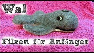 Wal filzen für Anfänger | Trockenfilzen | Nadelfilzen