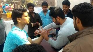 Akash kumar indian arm wrestler (65 kg) aniket arora uttar pradesh (85kg) wrestling