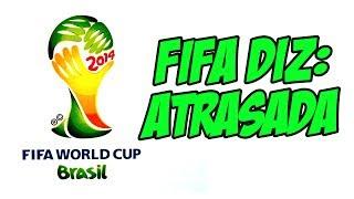 Presidente da FIFA diz que Brasil é o país mais atrasado nas obras da história da Copa do Mundo