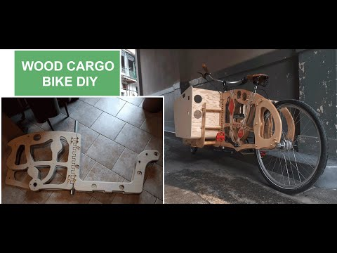 Woody Cargo - An Open Design Bike: How to build it