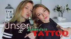 Mein ERSTES Tattoo - Schwesterntattoo