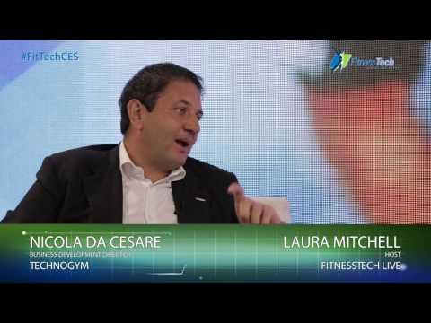 Nicola da Cesare Interview @ Fitness Tech CES 2016