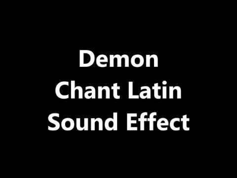 how to make demonic sound effect